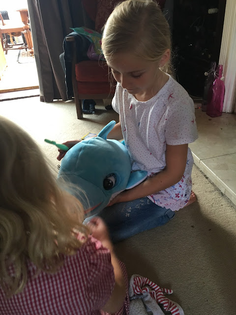 BluBu the baby dolphin interactive plush toy review