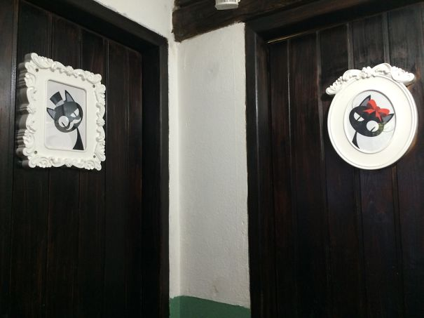 20+ Of The Most Creative Bathroom Signs Ever - Tomcat And Kitty