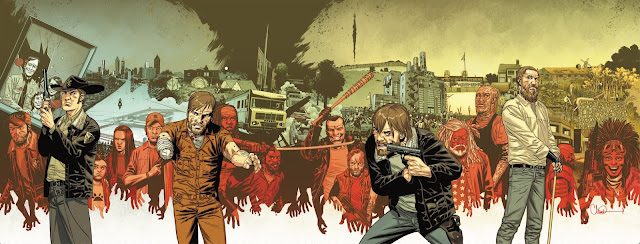 The Walking Dead #69 Gatefold Cover