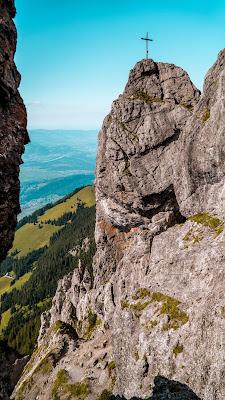 Fürstensteig  Gafadura Hütte - Drei-Schwestern - Gaflei  Wandern in Liechtenstein 061
