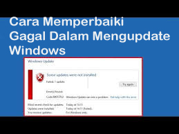 Cara Memperbaiki Gagal Dalam Mengupdate Windows 1