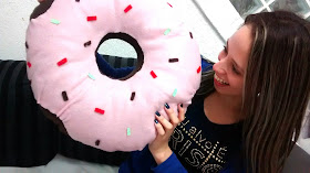 diy almofada donuts