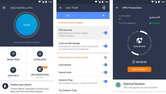 AVG-AntiVirus-for-Android - أفضل برنامج حماية للأندرويد