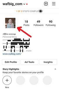 Cara Membuat Foto Profil Instagram Full