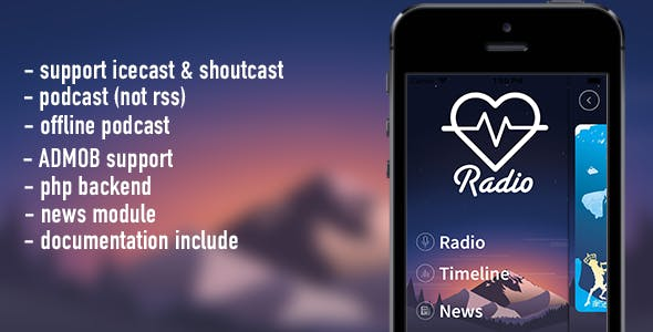 Lov Radio Bundle (android & ios pack)