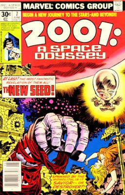 2001: a Space Odyssey #7, Marvel Comics, Jack Kirby