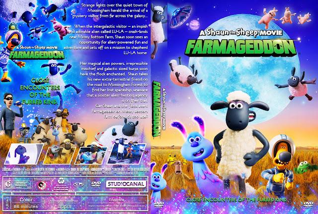 A Shaun the Sheep Movie: Farmageddon DVD Cover