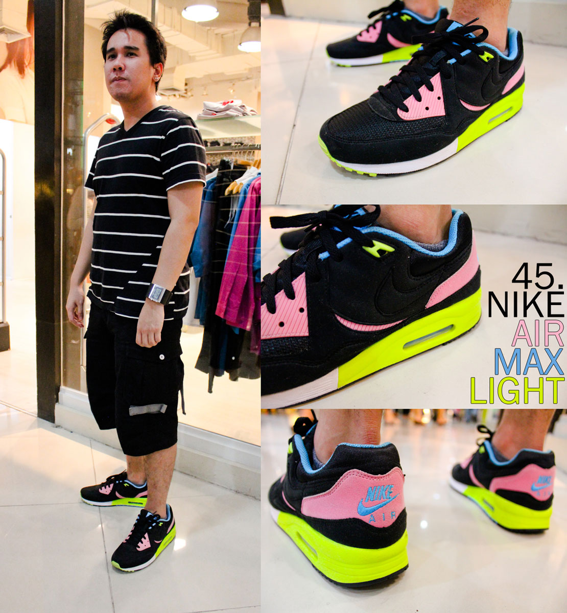 Astron Sneaker Hunts: 45. Nike Air Max Light