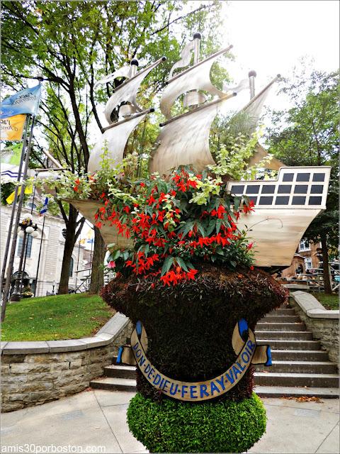 Escudo de la Ciudad de Quebec