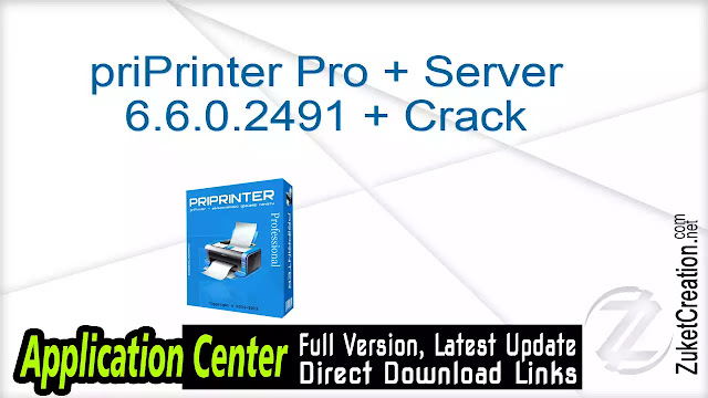 priPrinter Pro + Server 6.6.0.2491 + Crack