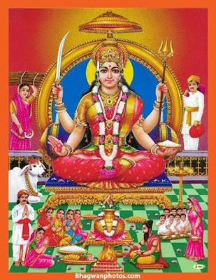 Santoshi Mata Wallpaper