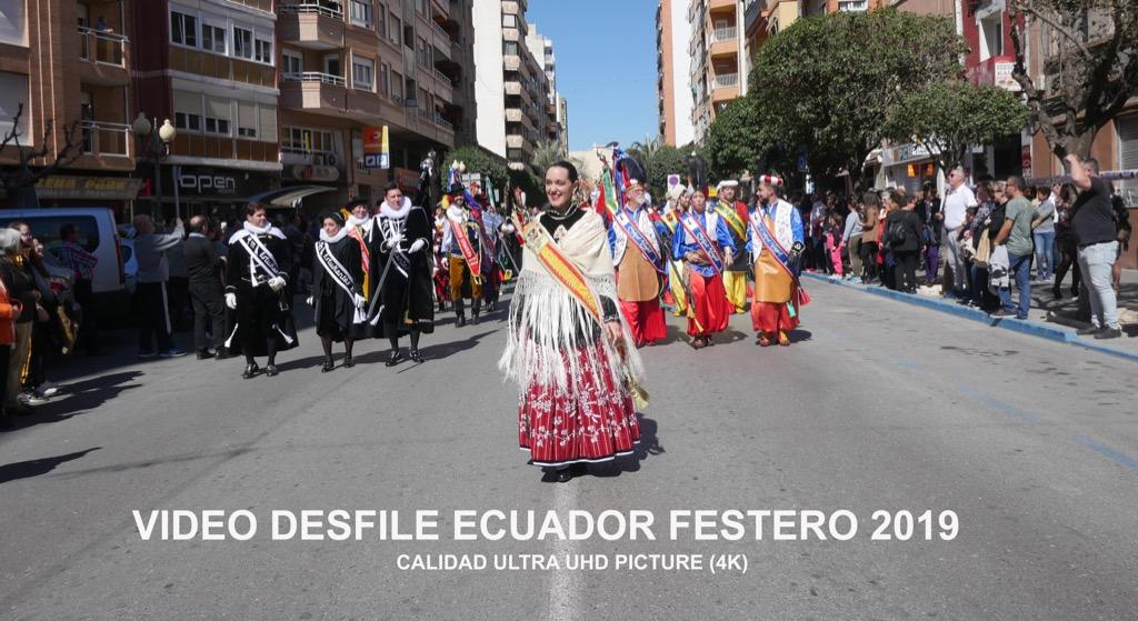 desfile ecuador