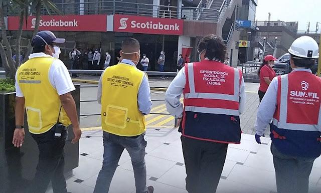 Sunafil sancionará a empresas que no paguen sueldo de marzo a trabajadores