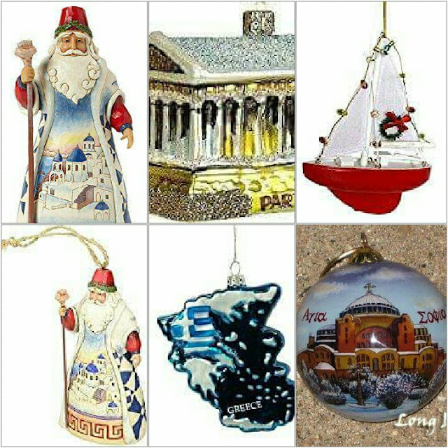 Greek Christmas Ornaments