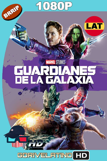 Guardianes de la Galaxia (2014) BRRip 1080p Latino-Ingles MKV
