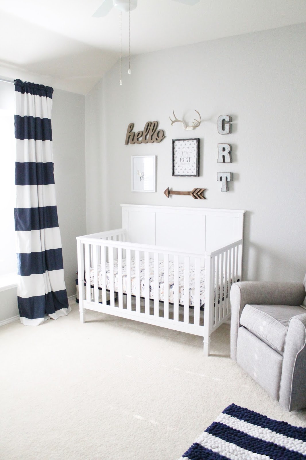 Toddler Boy Room Ideas: Tucker Up: Graham's Nursery Reveal