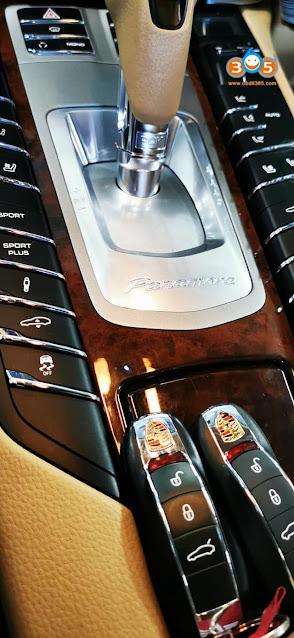 Lonsdor Program Porsche Panamera 4S 2012 Key 5