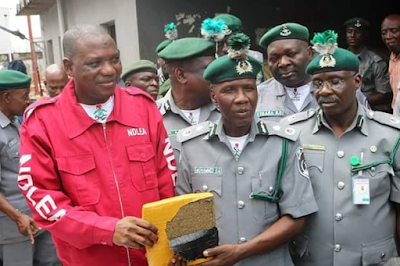 Photos: Nigeria Customs intercepts smuggled goods worth N607m