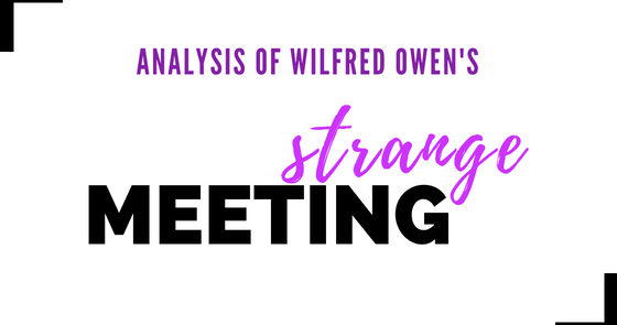 """pity war owen s strange meeting The poetry is in the pity"""" pity recurs again in his most famous poem 'strange meeting' when he writes of 'the pity of war, the pity war distilled."""