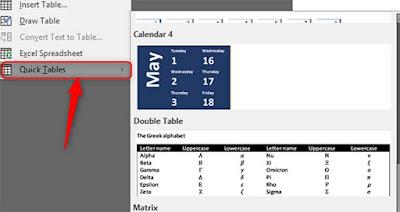 Cara Membuat Tabel Bergaris di Microsoft Word