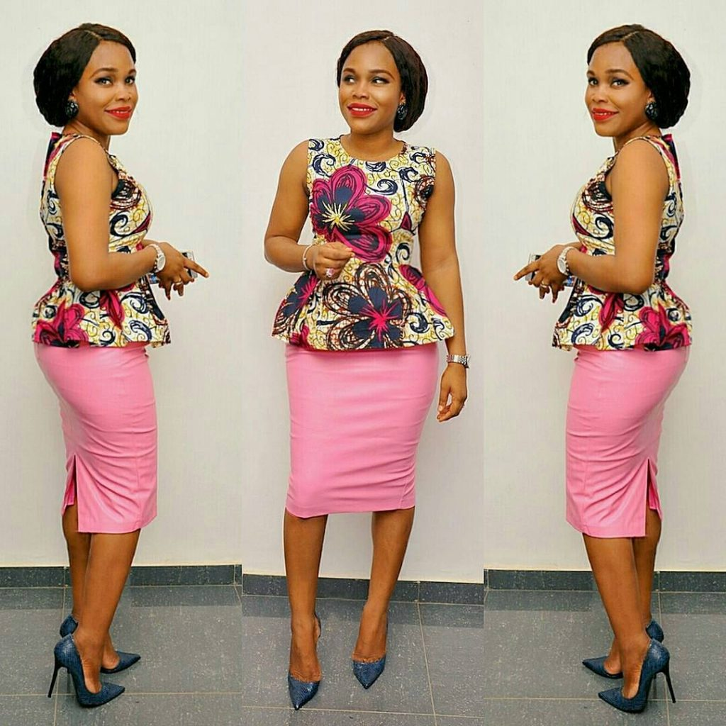 Simple Ankara Styles Top And Skirt Combinations Dezango