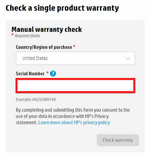 how to see Hp Warranty