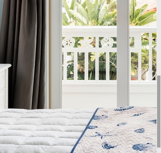 Cottage Style Coastal Home In Blue Amp Coral Shop The Look