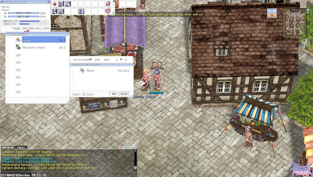 Cara Membuat Jus di Ragnarok Online Forever Love PC