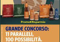 """Logo Concorso Conad """" 11 Paralleli """" : vinci 100 buoni spesa da 150 euro"""