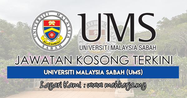 Jawatan Kosong Terkini 2018 di Universiti Malaysia Sabah (UMS)