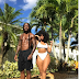 Rapper Ace Hood and his stunning girlfriend Shelah Marie show off their hot bodies in new photo.