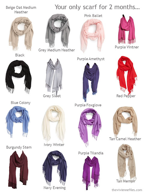 What color scarf will you choose?