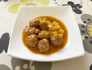 Meatballs with Pumpkin Sauce at CrockPot