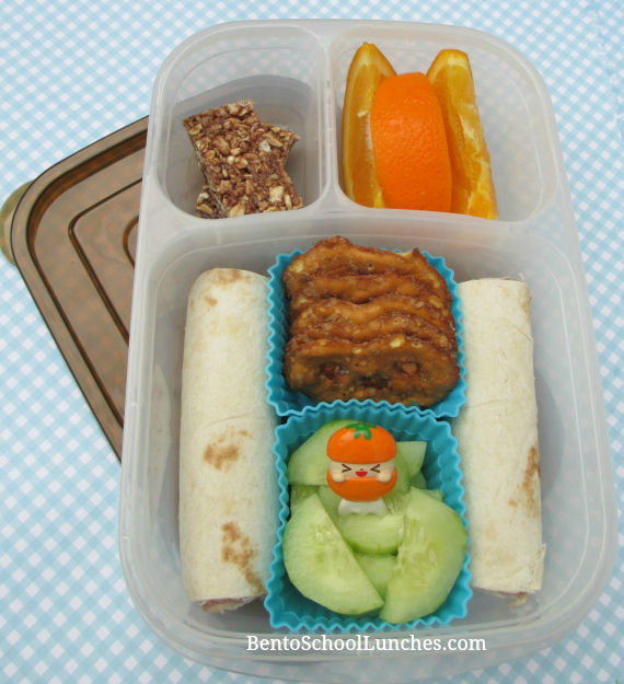 Tortilla roll ups, Easylunchboxes urban, bento school lunches