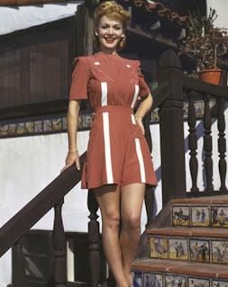 Carole Landis In Color