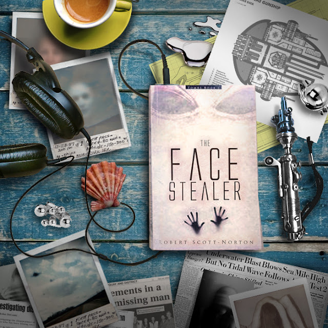 The Face Stealer audtio book amongst sci fi tools