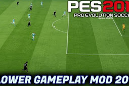 Slower Gameplay Patch For - PES 2017