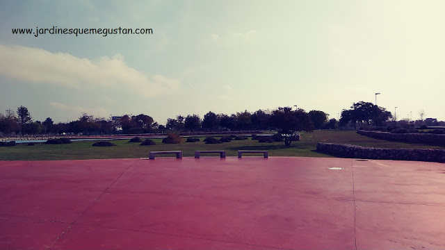 Zona sur del parque