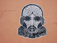 Fresque, art mural, street art, Star wars, Oaxaca, Mexique, Mexico