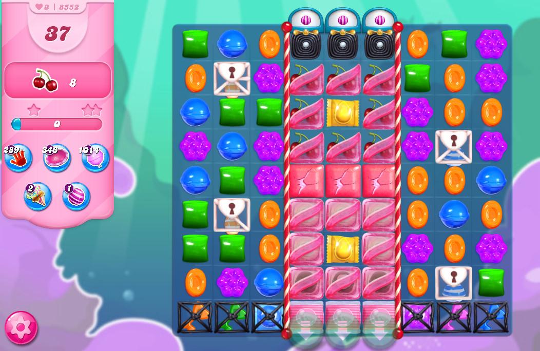 Candy Crush Saga level 8552