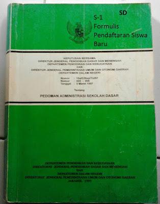 Formulir Pendaftaran Siswa Baru (S1) Format Microsoft Word