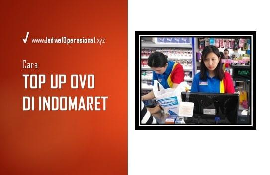 Top Up OVO di Indomaret