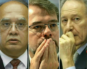 Abaixo-assinado pede impeachment de Gilmar Mendes, Toffoli e Lewandowski
