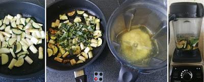 Schnelle Zucchini-Spargel-Suppe