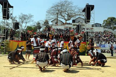 Chapchar Kut dance, bamboo dance