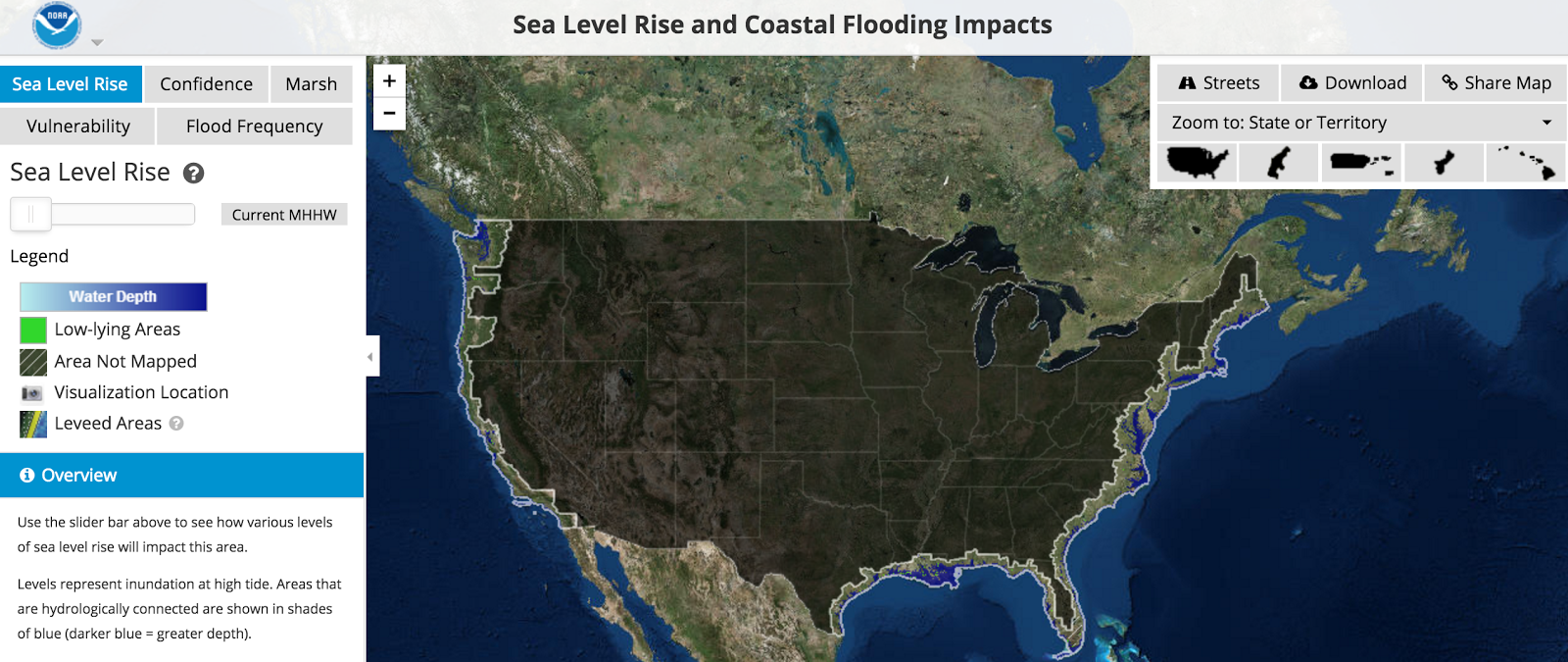 impacts of sea level rise Air & climate  climate change  acting on climate change impacts  responding to sea level rise climate change about climate change responding to sea level rise.