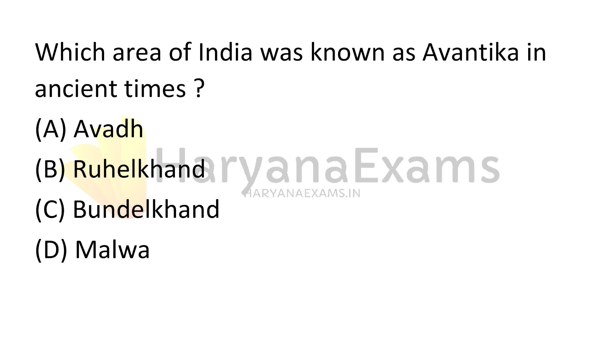 Which area of India was known as Avantika in ancient times?
