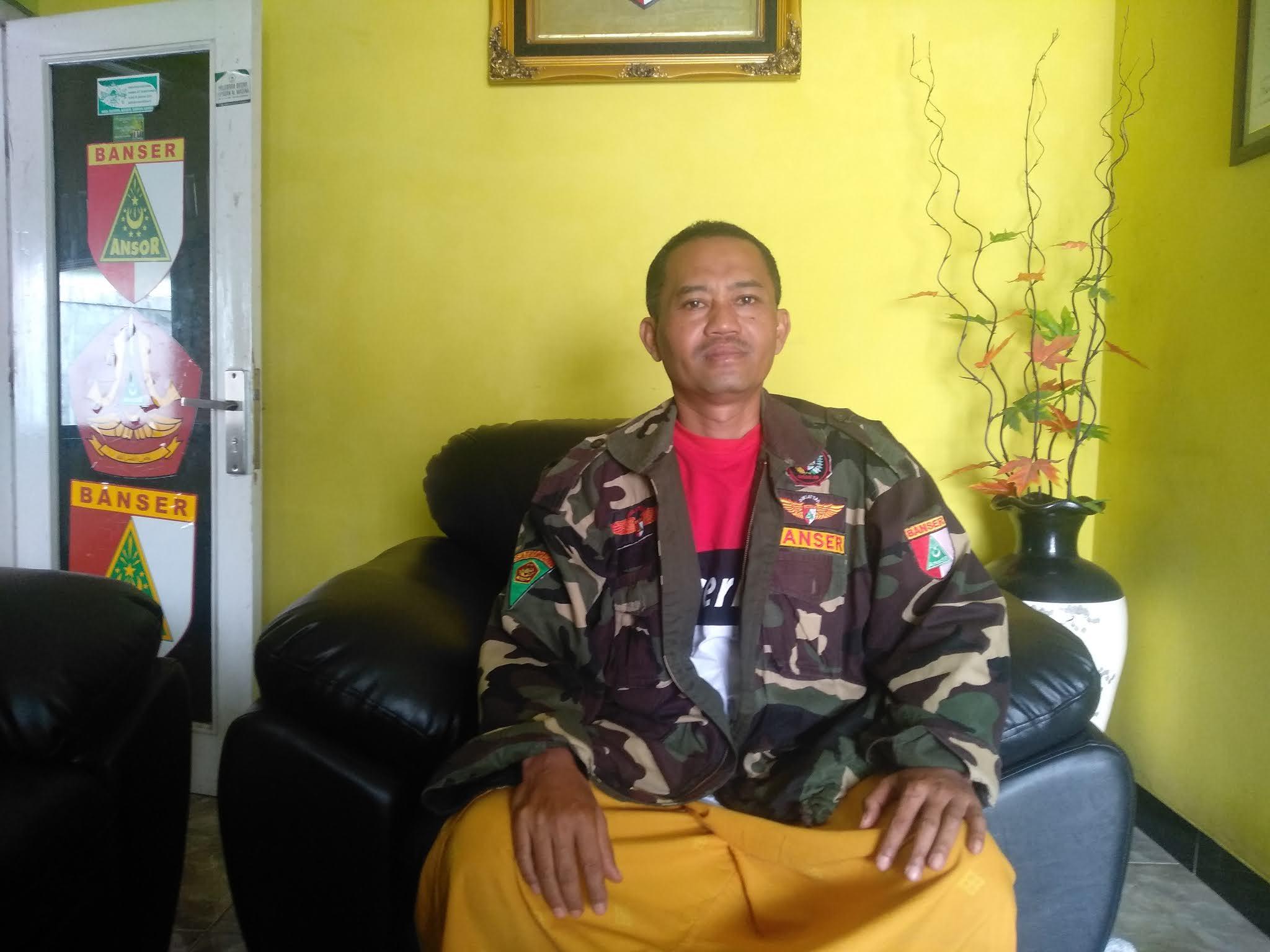 Kasatkorcab Banser Wonosobo Ikut Sukseskan Pilkada Desember 2020