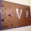 Back in the Branch: Jewelry Board Holder