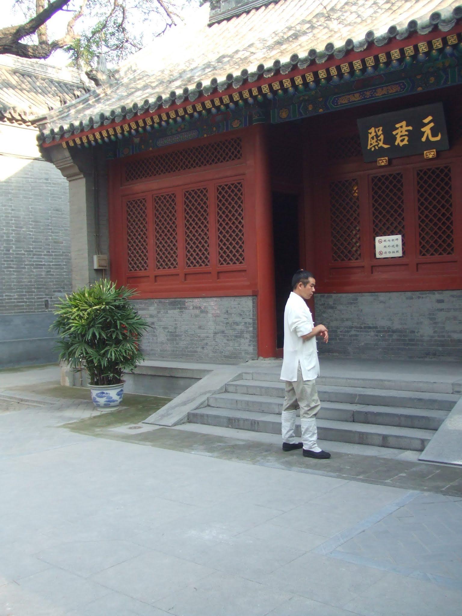 Mönch im taoistischen Kloster